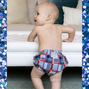 Ruffle Buns Stud Muffins Diaper Cover - Mickey